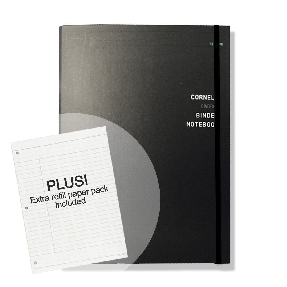 Buy 'CORNELL' Hard Cover 3 Ring Binder Notebook Pack With