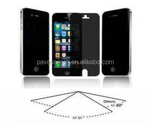 anti-spy glass protector for iphone ,privacy and anti-blue glass film