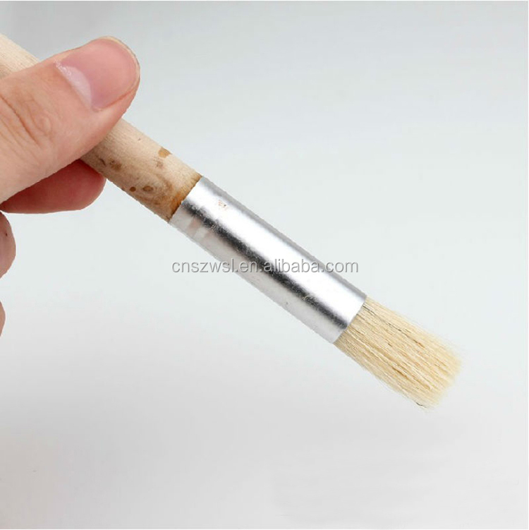 Round basting brush coffee grinder cleaner Natural/Clean brush