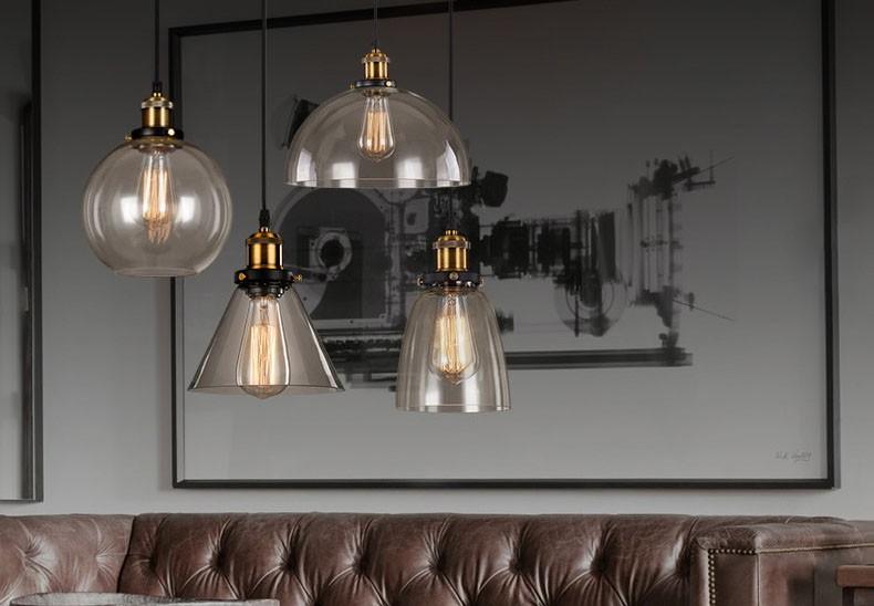 Moderne glazen nieuwe bloem hanglamp voor huis hotel hal restaurant