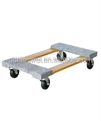 mobile wooden rolling Tool Cart TC4302 for sale