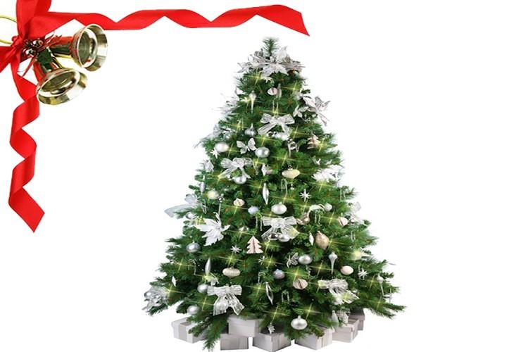 Lighted Mini Christmas Tree Led Of Pvc Material