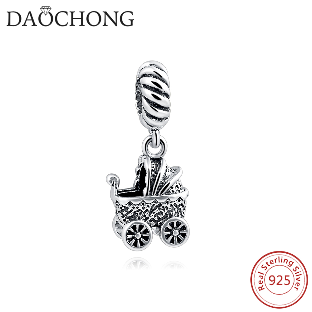 China Factory Price Vintage Children Day 100% Silver Perfect Gift Charm