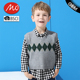 Kids jumper boys knitted sweater vest with wholesale price