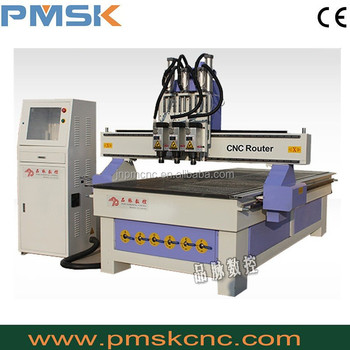 multi spindle drilling machine diy cnc milling machine plans /wood cnc router PMSK 1325