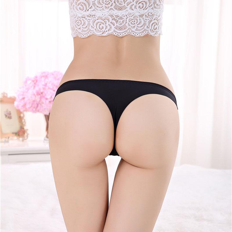 24201cf9b Get Quotations · Sexy G String Underwear Women Sexy Panties Micro Thong  Seamless Calcinha Pink Briefs Hot Sale calcinha