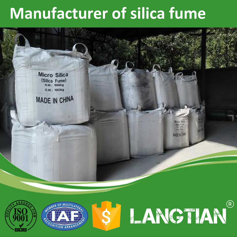Micro Silica Fume Astm c1240 Good Price for Concrete Cement Admixture