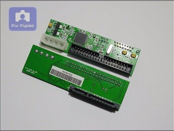 Serial To Parallel Port Sata To Ide 3.5 Adapter
