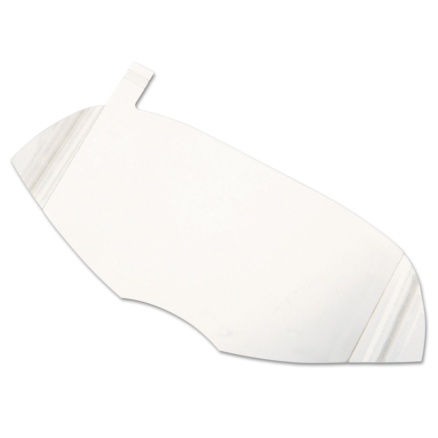 """North by Honeywell 80836A Peel Away Windows for Full Face Piece, North 5400, 7600 and 7800 Series, 6"""" 15/Pack"""