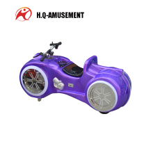 Electric park amusement rides equipment moto car race games for wholesale