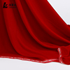 Hot sale red soft brushed silk clothing korea velvet fabric micro velvet 9000