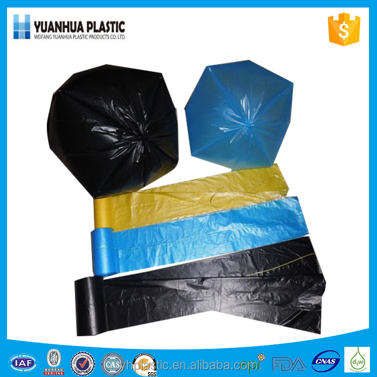Black Trash Bags for Kitchen Hospital Garden Garbage Bags