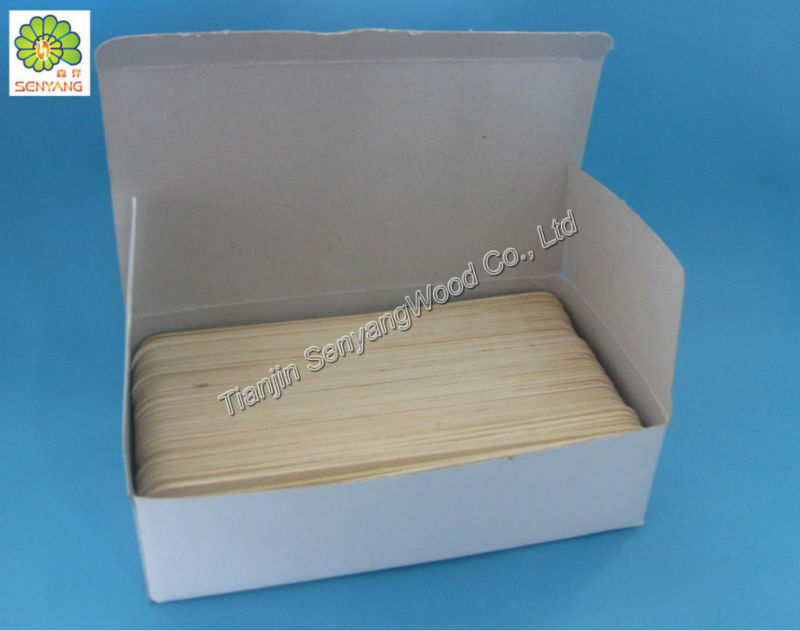 CE, ISO Approved Medical Accessories Sterile Wooden Tongue Depressor