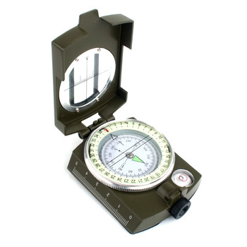 Quality precision geologic compass US military army compass outdoor adventure camping