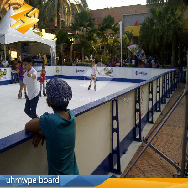 Soccer Dasher Board Plastic Wall/arena-style Backyard Hockey Rink Barrier/ice Hockey Dasherboards