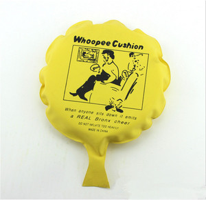 Promotional Toy Customised PVC Inflatable Whoopee Cushion