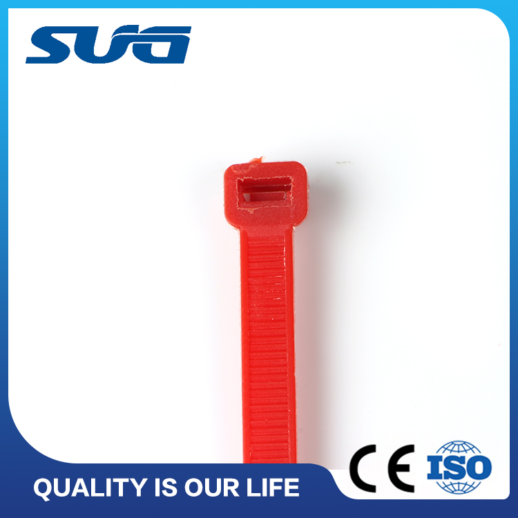 SUG hot selling Various colors Plastic cable ties in yueqing