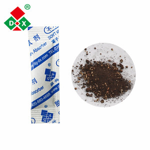 Efficient oxygen absorber packets for long term food storage