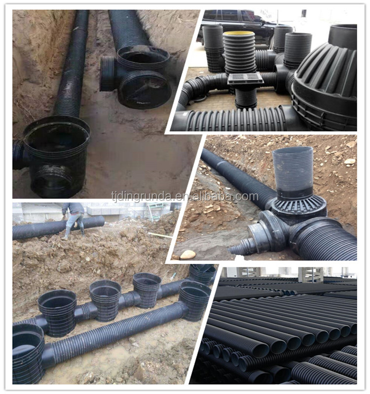 18 Inch Culvert Pipe Hdpe Corrugated Tube 24 Inch Hdpe