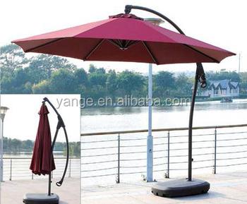 Giant Green Garden Umbrella Beach Patio Parasol