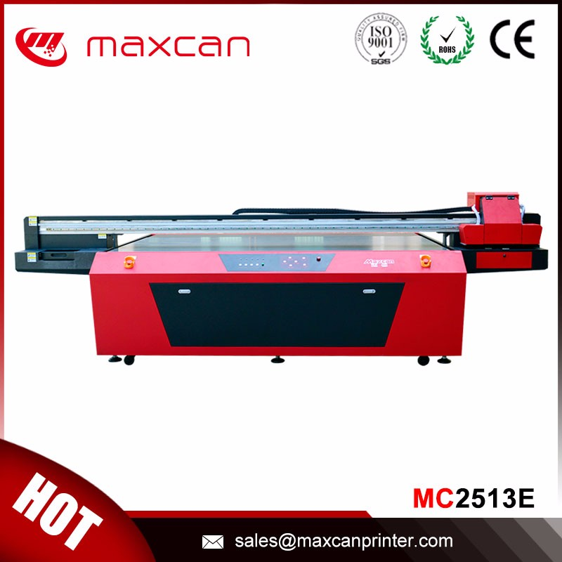 High speed signboard glass pvc board uv flatbed printer with Epson Dx5
