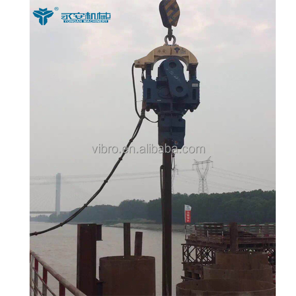 Dz60 Used Electirc Vibratory Pile Foundation Driving Hammers - Buy Used  Vibratory Hammer,Pile Driving Hammers,Electric Vibratory Hammers Product on
