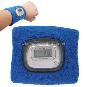 2015 New Multifunctional Wristband Pedometer with LCD Display Blue Outdoor Sports