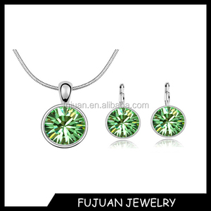 New style round zircon fashion leader jewelry