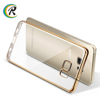 Back cover case for samsung galaxy a7 2016 for Samsung S7 edge mobile phone Plating Electroplating protective shells
