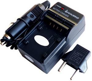 Replacement Wall + Car Battery Charger Kit for Panasonic VW-VBG070, VW-VBG070A, VW-VBG130, VW-VBG130-K, VW-VBG130E-K, VW-VBG130GK, VW-VBG130PP, VW-VBG130PP9, VW-VBG130PPK, VW-VBG260, VW-VBG260-K, VW-VBG260E-K, VW-VBG260GK, VW-VBG260PP8, VW-VBG260PPK, VW-VBG6, VW-VBG6-K, VW-VBG6E-K, VW-VBG6PPK,