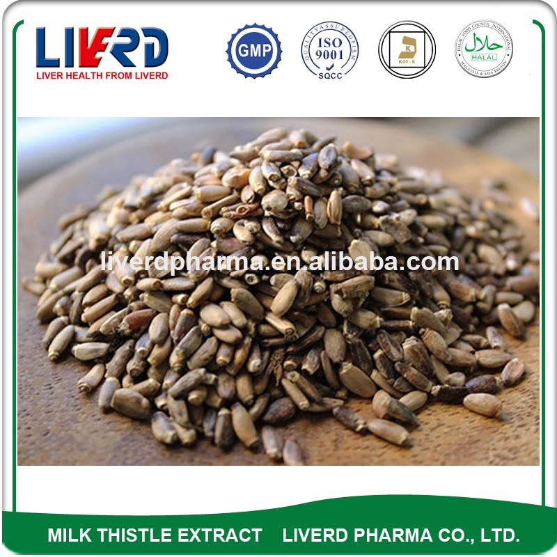 High Quality Herbal Medicine Cardus Marianus Milk Thistle Extract