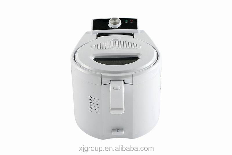 32801A deep fryer with detachable oil tank,panel and lid for easy cleaning 2000w 4L of electric fryer