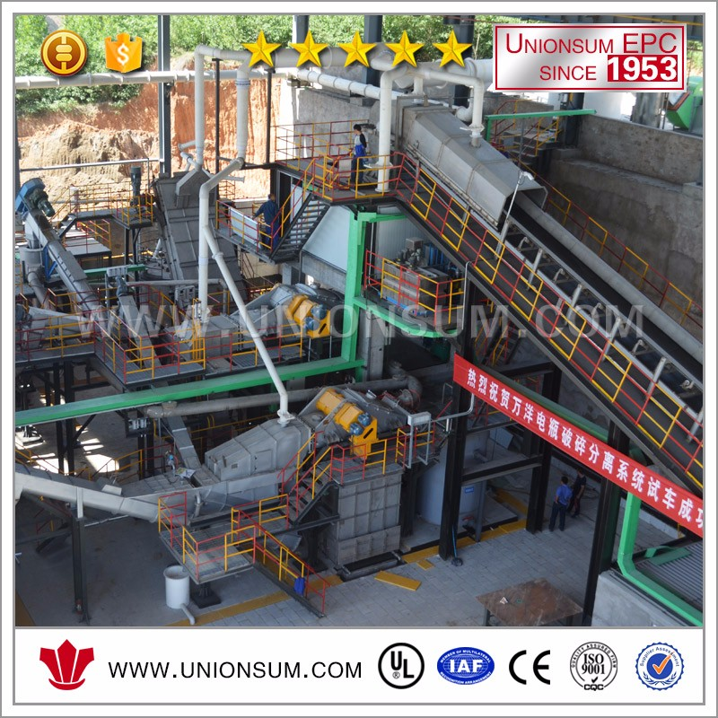 Waste Lead Acid Battery Recycling Plant Car Used