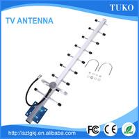 Rotating antenna Wireless waterproof 18dbi yagi telescopic antenna tv antenna outdoor