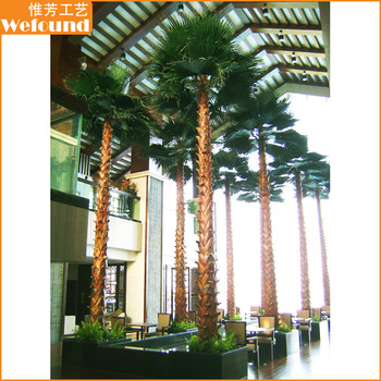 Wefound Tall 8 M/26 Ft Indoor Home Decoration Metal Artificial Palm ...