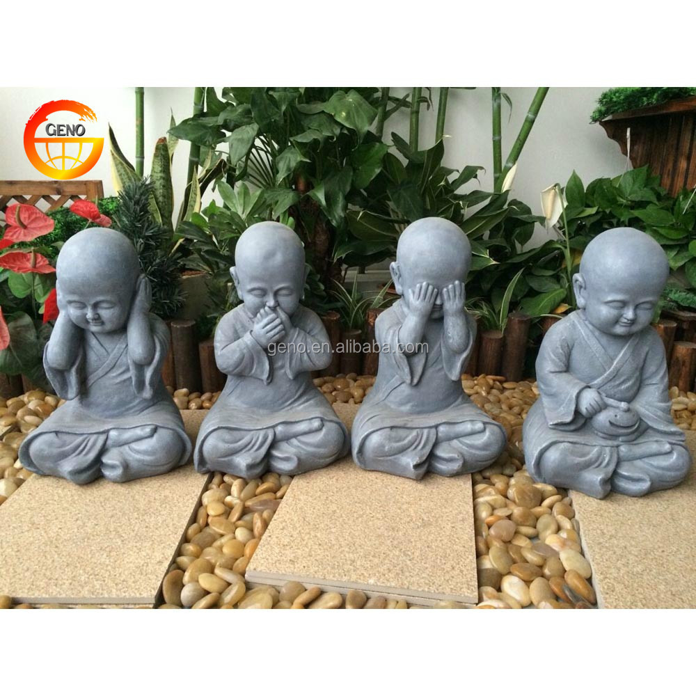 Fengshui buddha monk statute for wholesale