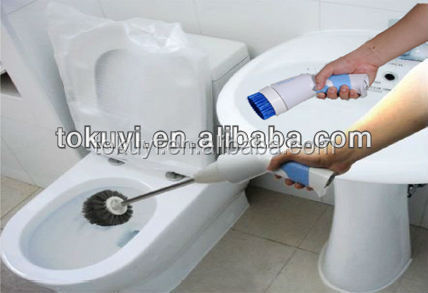 Electric Bathroom Cleaning Brush My Web Value