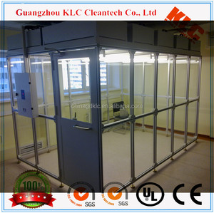 Easy installation high quality mini clean room with control box