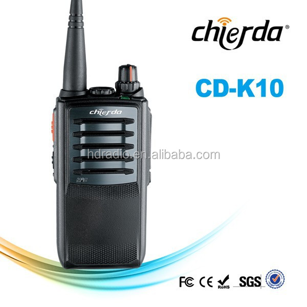 Two way radio communication for taxi, walkie talkie vox