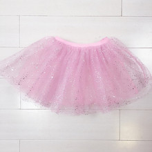 infant birthday glitter tutu cheap baby pink tutu