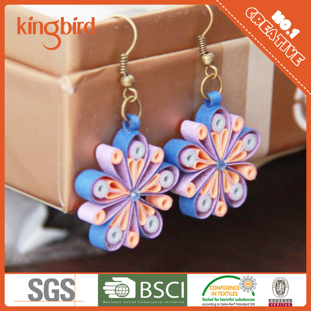 Designs Of Paper Quilling Earrings, Designs Of Paper Quilling ...