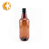 Low Price Factory Directly 1L 1000Ml Amber Empty Beer Bottles Plastic Pet Beer Bottles