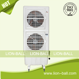 Turkey 14000M3/H big airflow double axial fan swamp air cooler for workshop