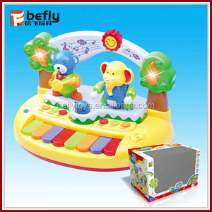 Baby electric piano cartoon toy music