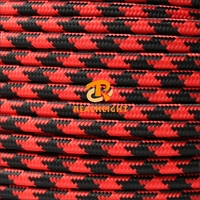 VDE UL Certified Fabric Textile Braided Wire and Cable Cloth Covered Wire Electrical Power Cable