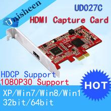 HD Video capture Card PCIe 1080P30 HDMI