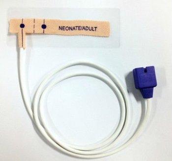 Ecg Probe Nellcor Neonatal Electrocardiograph Disposable Pediatric Pulse  Oximax Soft Tip Spo2 Compatible Sensor - Buy Nellcor Spo2 Sensor,Nellcor  Spo2