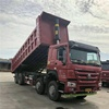 Cheap used 31-50ton Howo dump truck for sale,Howo dump trucks/Dumpers/Used 8*4 6*4 Tippers