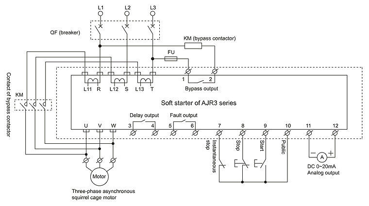 ajr3 intelligent motor soft starter buy motor soft wiring diagram for delta radial arm saw