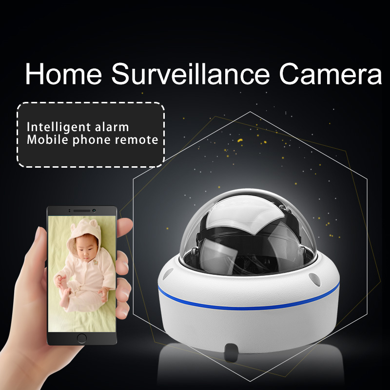 Full HD 4MP Vandalproof Dome Security Camera 15pcs IR CCTV Video Monitor Camera Support PoE for Sale